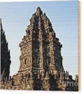 Prambanan Temple In Indonesia Wood Print