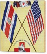 Red Cross Poster, C1917 Wood Print