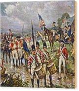 Saratoga: Surrender, 1777 Wood Print