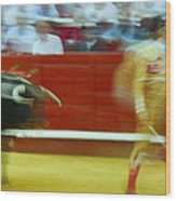 Tauromaquia Bull-fights In Spain Wood Print