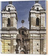 The Monastery Of San Francisco -  Lima Peru Wood Print