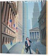 New Yorker September 29th, 2008 Wood Print