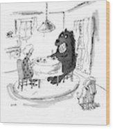New Yorker September 21st, 2009 Wood Print