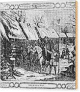 Valley Forge, Winter 1777 Wood Print