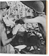 World War II New Guinea Wood Print