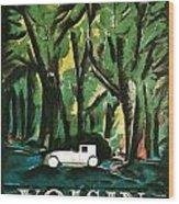 Vision Automobiles Wood Print