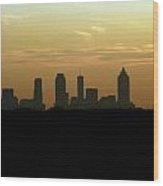 Atlanta Ga. Wood Print
