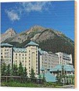 816p Chateau Lake Louise Canada Wood Print