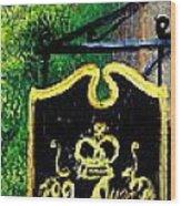 82 Queen Wood Print