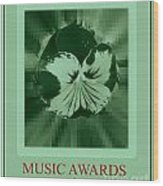 Music Awards Wood Print