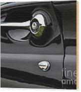 Thunderbird Detail Wood Print