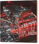 850 Horse Power Wood Print
