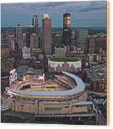85th Mlb All-star Game Aerials Wood Print