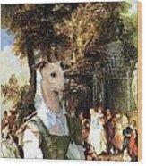 Italian Greyhound Art Canvas Print  Wood Print