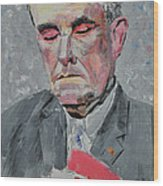 9-11 Mayor Giuliani Wood Print