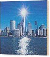9/11 Memorial Wood Print