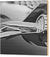 1957 Chevrolet Belair Hood Ornament Wood Print