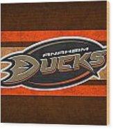 Anaheim Ducks Wood Print