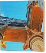 Apollo Sanctuary - Cyprus Wood Print