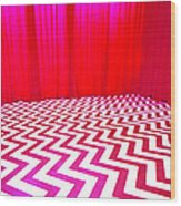 Black Lodge Wood Print