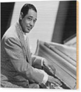 Duke Ellington (1899-1974) Wood Print