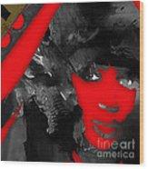 Empires Naomi Campbell Camilla Wood Print
