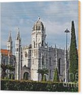 Hieronymites Monastery In Lisbon Wood Print