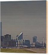 London City Airport Wood Print