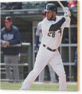 Minnesota Twins V Chicago White Sox Wood Print