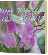 Orchid For You  Wood Print by Gornganogphatchara Kalapun