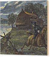 Paul Reveres Ride Wood Print