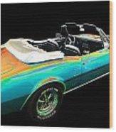 Pontiac Wood Print