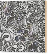 #9 Wood Print