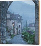 Saint Cirq-lapopie Wood Print
