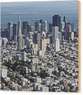 San Francisco, California Ca Wood Print