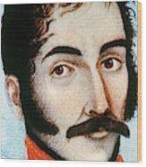 Simon Bolivar (1783-1830) Wood Print