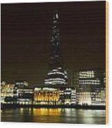 South Bank London Wood Print