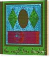 The Eagle Wood Print