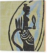 The Wise Virgin Wood Print