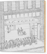 New Yorker February 13th, 2006 Wood Print