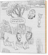 New Yorker April 24th, 2000 Wood Print