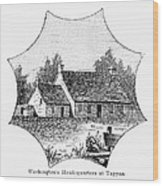Washington: Headquarters Wood Print