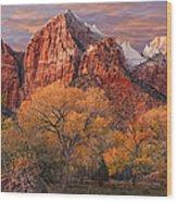 Zion National Park Wood Print