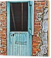 9177 Wood Print