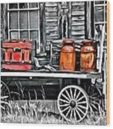 9182 Wood Print