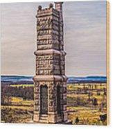 91st Pennsylvania Infantry Monument Wood Print