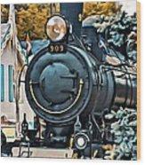 9266 Wood Print