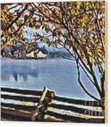 9339 Wood Print
