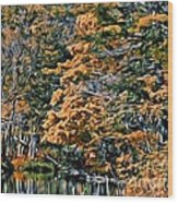 9380 Wood Print