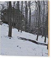 Verejova Rock Wood Print